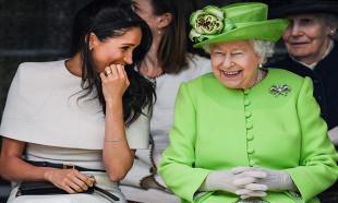 Kraliçe Elizabeth'den Harry ve Meghan'a zeytin dalı