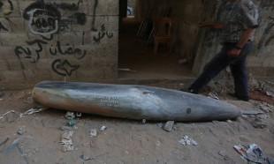 Gazze'de infilak etmemiş bir MK-84 bombası bulundu