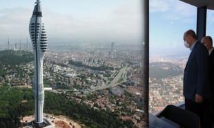 Çamlıca Kulesi İstanbul'un yeni simgesi oldu!
