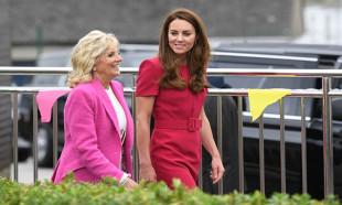 Jill Biden ve Cambridge Düşesi Kate Middleton buluştu