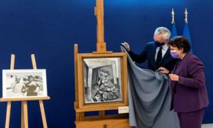 Pablo Picasso'nun kızı Maya, babasının 9 eserini Fransa'ya verdi