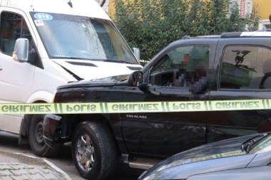 Kartal'da lüks cipi çalan kişinin vurulma anı ortaya çıktı