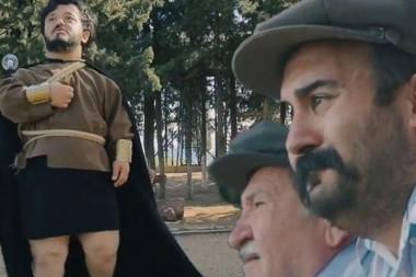 Aydın'da yerli 'Game of Thrones' filmi çekildi