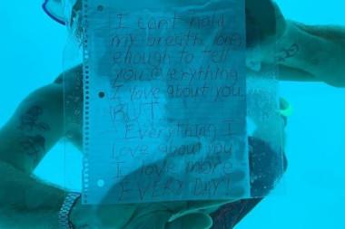 Su altında evlilik teklifi ederken boğuldu!