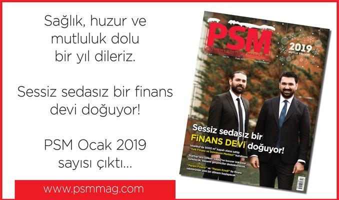 PSM Ocak 2019 sayısı çıktı…
