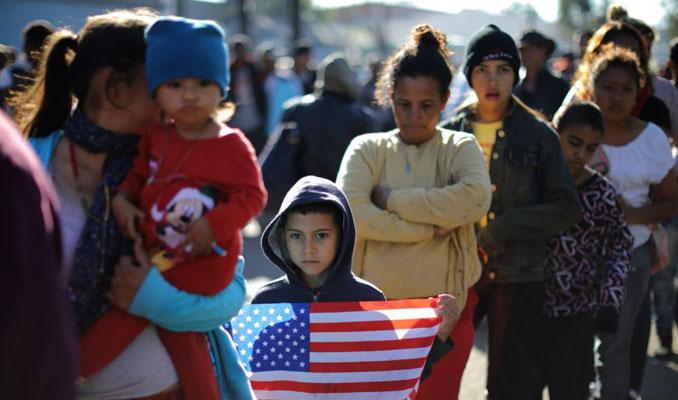 Trump: Honduras'tan gelen göçmenler duvarda haklılığımızı gösterdi