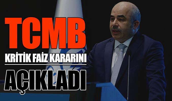 TCMB Aralık ayı kritik faiz kararını açıkladı