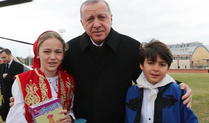 Cumhurbaşkanı Erdoğan Edirne'de
