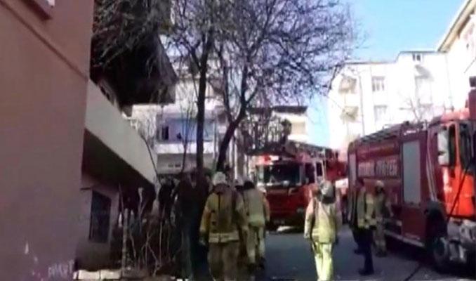 İstanbul Büyükçekmece'deki binada patlama: 1 Ölü