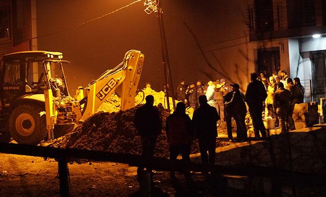 İstanbul'da göçük: 1 ölü