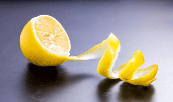 Kabuğu soyulmuş bir limonu yerseniz...