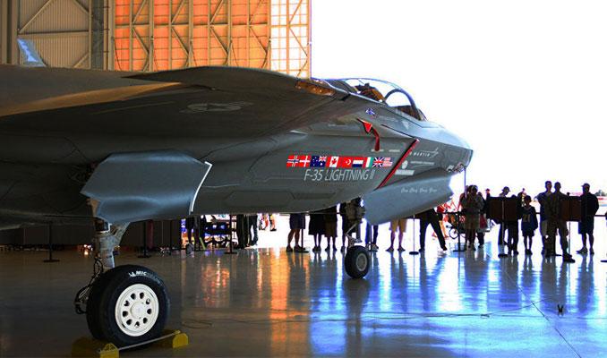 Türk şirketler F-35 parçası üretimini sürdürüyor