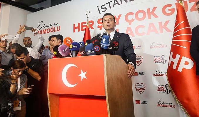 İmamoğlu: İstanbul seçiminin neticeleri hayırlı olsun