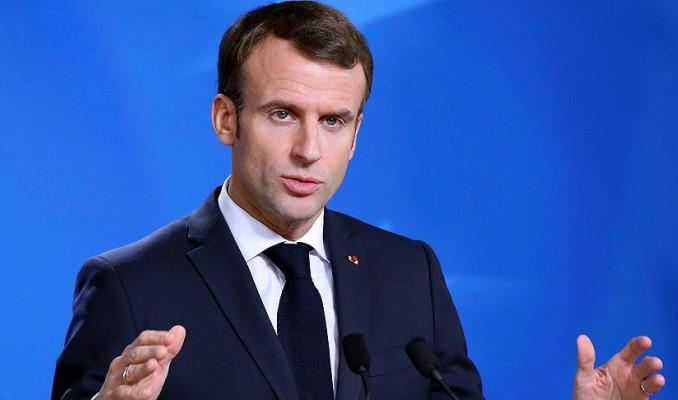 Macron: Trump Avrupa'ya karşı duruşunu netleştirmeli