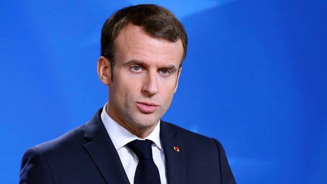 Macron: G7 zirvesinde ekonomiyi canlandırmanın yolları da tartışılmalı