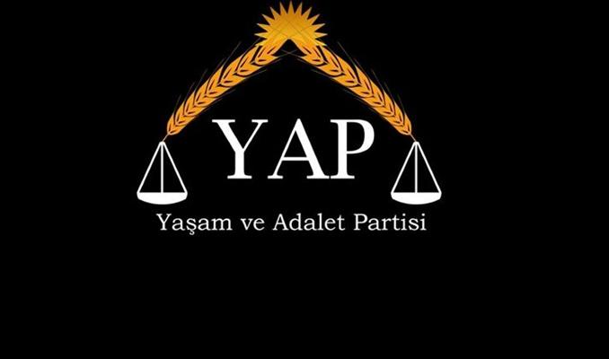 Yaşam ve Adalet Partisi için Türk Patent Kurumu'na başvuru yapıldı