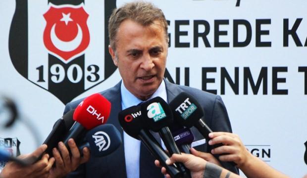 Fikret Orman: Beşiktaş'a zarar verdiğimizi düşünüyoruz