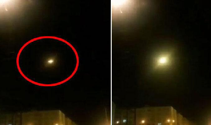 Ukrayna uçağı füze ile mi vuruldu? İşte yeni görüntüler