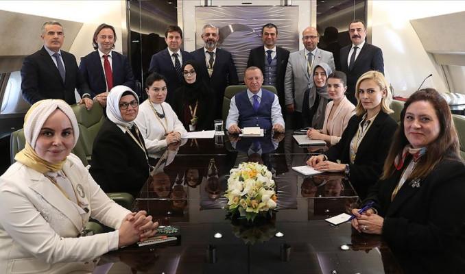 Erdoğan: Depremde zarar gören işletmelere 100 bin TL faizsiz kredi verilecek