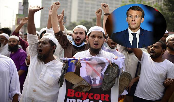 Fransa'ya karşı öfke dalga dalga yayılıyor