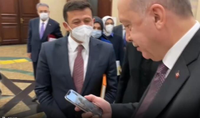 Cumhurbaşkanı Erdoğan Ayda bebek ile görüştü