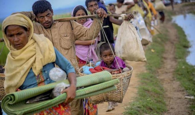 Arakanlı Müslümanlar tehlikeli bölgeye göçe zorlanıyor