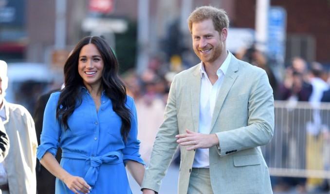 Meghan Markle ve Prens Harry'ye drone tacizi