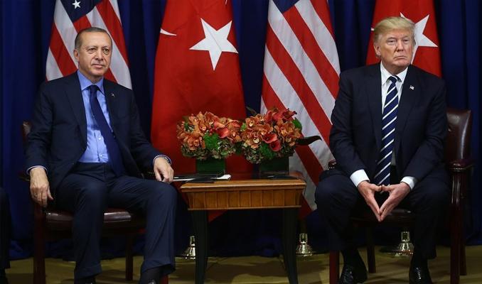 Erdoğan ve Trump'tan önemli görüşme