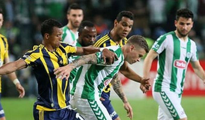 Fenerbahçe-Torku Konyaspor maçında saat değişikliği