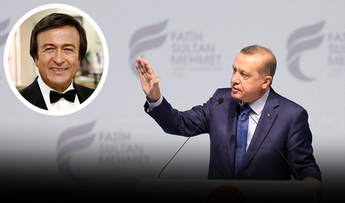 Erdoğan'dan Erol Evgin'e sert sözler!