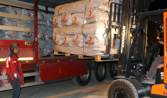 Kızılay ve AFAD ekipleri Kuzey Irak'a yardıma gitti