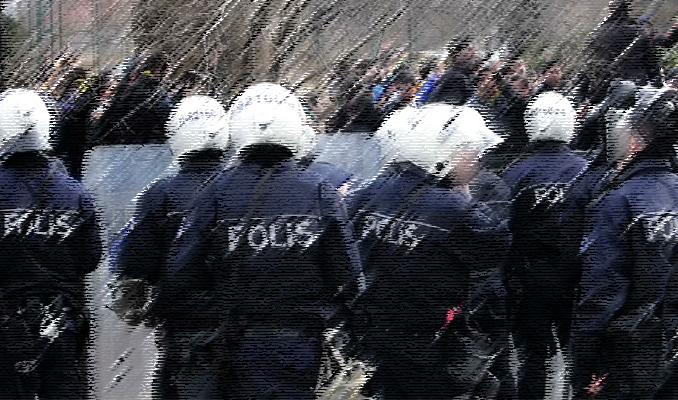 533 polis için flaş karar
