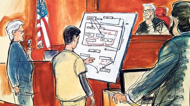 Zarrab o şemaları çizmek için savcılarla prova yapmış