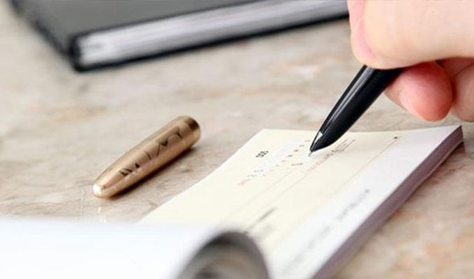 Bankalara ibraz edilen çekler yüzde 10 arttı