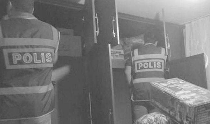 'Polis baskınında hırsızlık' iddiasına açıklama