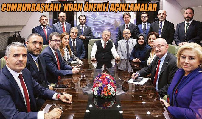 Erdoğan: Atatürk'ün vasiyeti Hazine'ye geçsin