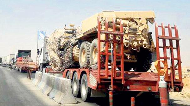 ABD'den terör örgütü YPG'ye 500 TIR malzeme