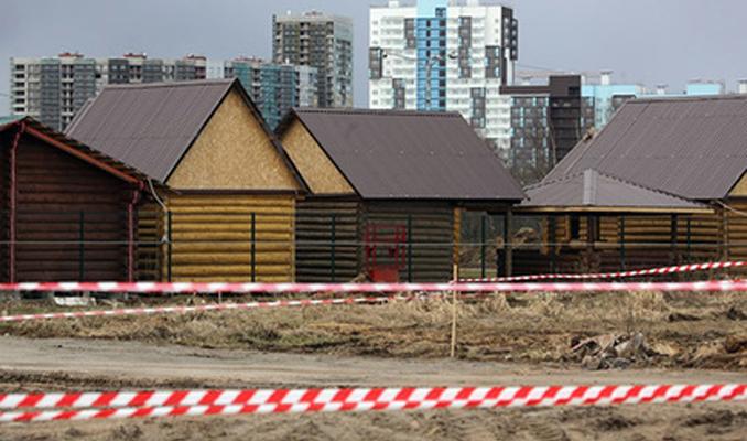 Moskova'da müstakil evler ucuzladı