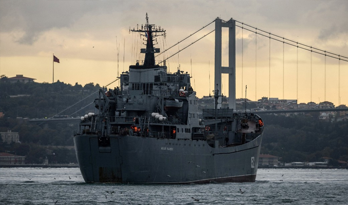 İstanbul Boğazı Rus gemilere kapatılsın talebi