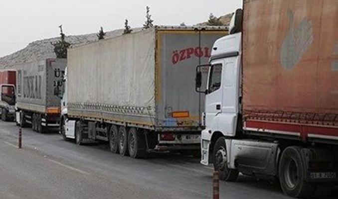 Afrin'e gümrük kapısı açıldı
