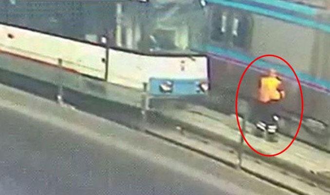 Sultangazi'de tramvay dehşeti