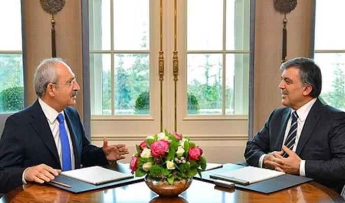Kemal Kılıçdaroğlu Abdullah Gül'le görüştü