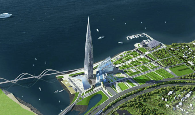 Rönesans İnşaat, Gazprom'un merkez ofisini inşa etti
