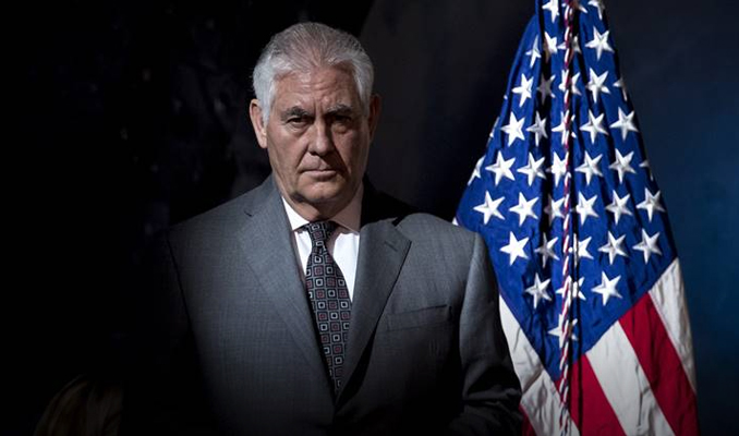 Tillerson: Türkiye'nin güvenlik kaygısının farkındayız