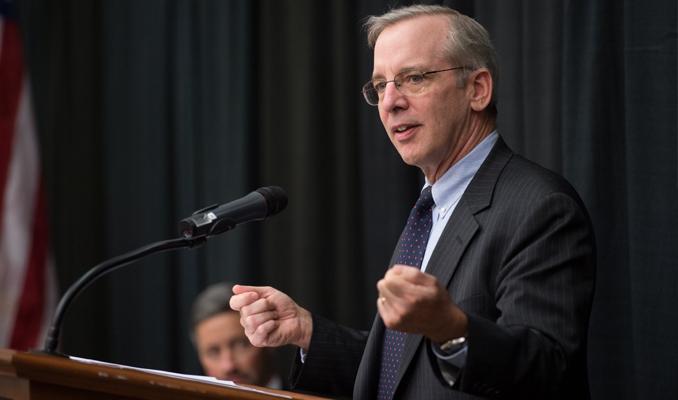 Dudley'den borsadaki düşüşe yorum: Ufak patatesler