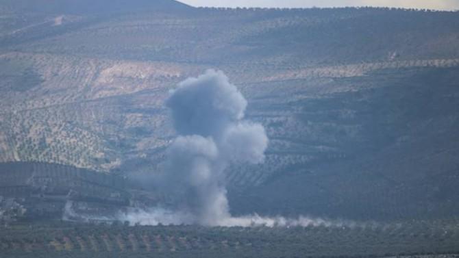 Afrin kırsalında patlama: Yaralılar var
