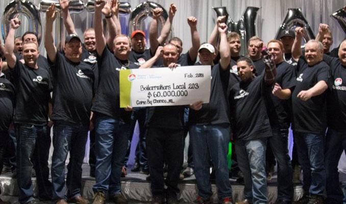 47 milyon dolarlık loto iş arkadaşlarına çıktı