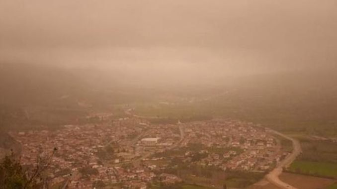 Meteoroloji'den yarın için toz uyarısı geldi!
