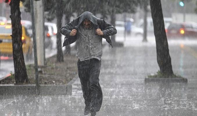 Kuvvetli sağanak yağmur tekrar geliyor