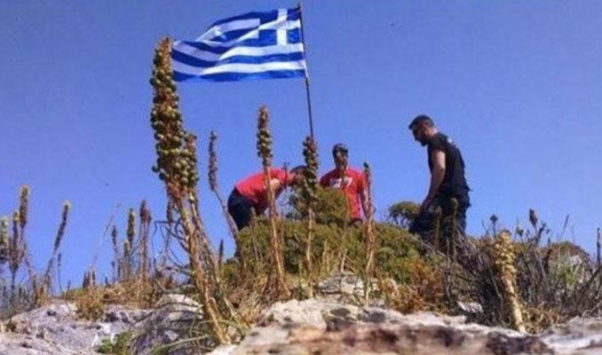 Bayrak krizine Yunanistan'dan açıklama